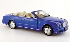 MINICHAMPS 2006 Bentley  Azure Cabriolet, Metallic Blue 1:18 Last One!!