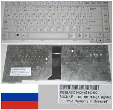Teclado Qwerty Ruso LG M1 HMB434EA 3823BA0303A Blanco