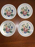 "Vintage RED WING ORLEANS 4 - 6"" Dessert Pie Salad Plates 1940's"