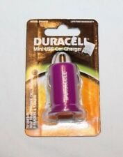 Duracell Mini USB Car Charger Purple DU1623