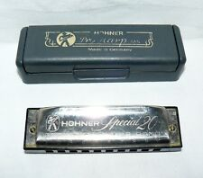 Hohner Harmonica Special 20 Not Correct Case Wind Instrument