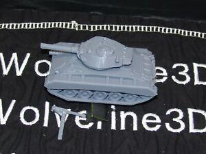 Flames Of War USA M24 Chaffee Tank 1/100 15mm FREE SHIPPING