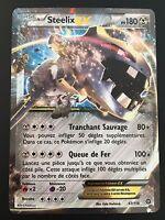 Carte Pokemon STEELIX 67/114 Holo EX XY11 Française NEUF