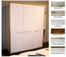 Überspannungsschutz mit 3 moderne Kleiderschränke aus Massivholz der Türen