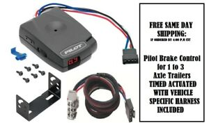 80550 Pro Series Brake control with Wiring Harness 3026 FOR 2007-2018 GM