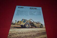 Caterpillar 657E Wheel Tractor Scraper Pan Dealer/'s Brochure DCPA6
