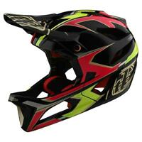 Troy Lee Designs Stage MIPS Helmet ROPO Pink Yellow Medium/Large