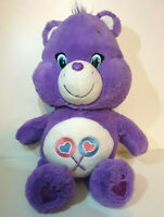"2015 Care Bear Plush - Share Bear - 13"" - Collectable - Excellent Condition"