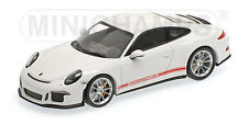 "Porsche 911 R ""White with red writing"" 2016 (Minichamps 1:43 / 410 066221)"