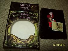 disney villain captain hook pin limited edition 5000 peter pan mib