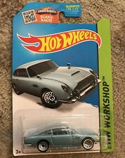 2015 Hot Wheels  ASTON MARTIN 1963 DB5 Then and Now HW WORKSHOP