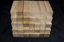 "35 Pc Butternut 1 1/2 sq. x 5 1/2"" Wood carving Lathe Turning Kiln Dried Blanks"