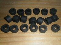 Scalextric 20 new grippy 90s F1 rear slick car tyres SUPERB spares Ferrari etc.