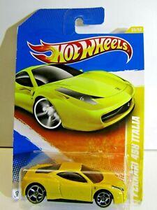 Mattel Hot Wheels 2010 HW Premiere Ferrari 458 Italia 35/52 # R0954-A7A0