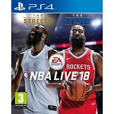 NBA Live 18 Video Game for Sony Ps4 Games Console