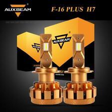 AUXBEAM H7 LED Canbus Headlight Bulb Kit 6000K 70W 7000LM Error Free F-16 Plus