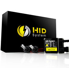 35W HID Conversion Kit H1 H3 H7 H11 9006 5000K 6000k Xenon Light & Slim Ballasts