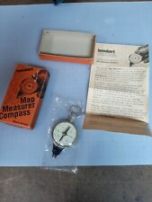 Map Measure Compass Henniker's Made in Germany Opisometer