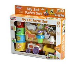 My First Farm Toddler Kids Fun Time Play Set Toy 12+ months