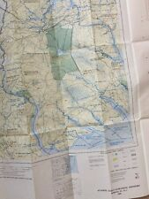 1980 US Fish & Wildlife Norfolk VA NC Atlantic COAST ECOLOGICAL INVENTORY Map