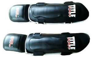 Title MMA Gel Pro Shin Guards - Size Regular