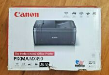 ⭐ Canon Pixma MX490 All-In-One InkJet Printer Scanner Copier Color - Open Box