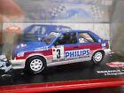 RENAULT 11 Turbo Rallye Monte Carlo 1987 #3 Ragnotti Philips SP IXO Altaya 1:43