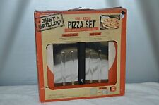 JUST GRILLIN GRILL PIZZA STONE SET TURN GRILL INTO A PIZZA OVEN USE GRILL/OVEN