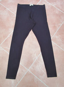 Papaya - Navy Stretch Jersey Skinny Leggings - size 14