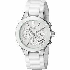 DKNY WHITE CERAMIC COLLECTION WATCH NY4912