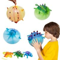 1 Pcs Inflatable Dinosaur Ball Toy TPR Animal Vent Toy Blow Toy for Kid Chi sj