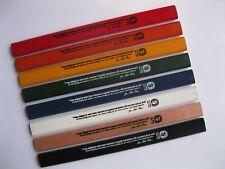 J. S. Bach Carpenter Pencil - 8 pack, RAINBOW