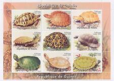 TURTLE TORTOISE ANIMAL REPUBLIQUE DE GUINEE 1998 MNH STAMP SHEETLET