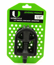 ULTRACYCLE KID'S BICYCLE PEDALS 1/2""