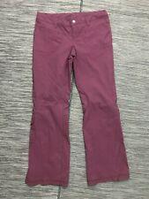 Athleta Women's Size 4P Dipper Khaki Outdoor Burgandy Nylon/Spandex 683761