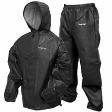 Mens Hooded Waterproof Full Zip Rainwear Jacket And Trousers Set F321