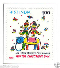 PHILA1388 INDIA 1993 NATIONAL CHILDREN DAY & INTERNATIONAL FILM FESTIVAL MNH