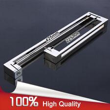 304 Stainless Steel L Shape Frameless Shower Glass Door Pull/Push Handle Chrome