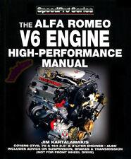 Alfa ROMEO V6 manuale Libro Motore Performance Negozio 164 Gtv6 Milano 75 159