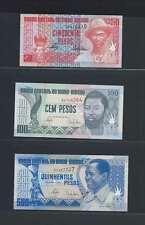 Guinée Bissau Lot de 3 billets différents  en état NEUF   Lot N° 1