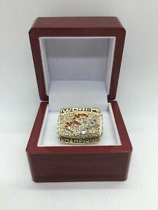1998 Denver Broncos John Elway Super Bowl Championship Ring Set with Box