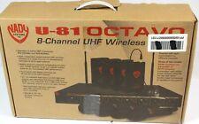 Nady U-81 Octavo Omni Laviler Wireless System (Partial) #R5495