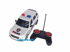 Police Range Rover Radio Remote Control Car 1/16 - Rc Lights