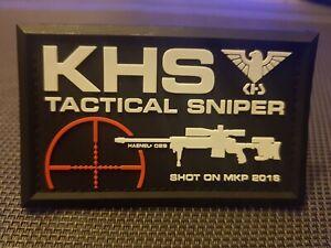 Tactical Sniper KHT Patch  Sportwaffen.Waffensport  Funsport NEU