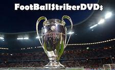 2016 Champions League RD 16 2nd Leg Real Madrid vs Roma DVD
