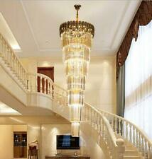 Stair light Large pendant lamp villa contemporary living room crystal light lamp