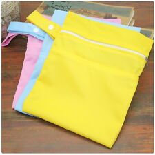 Reusable Baby Supplies Diaper Storage Bag Travel Zipper Fashion Maternity Bag