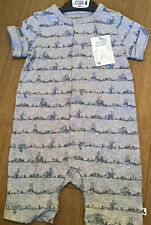 Mothercare Peter Rabbit ( Beatrix Potter ) Grey Short Romper Age 12-18 Months