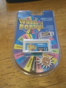 NIP Wheel of Fortune Game Cartridge #12 Tiger Electronic LCD Brand NEW