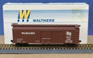 Walthers 932-2200 HO 40' DS Wood Boxcar Kit w wood Ends Custom Dec Wabash  #1925